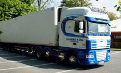 Contact M.Roberts Refrigerated Transport